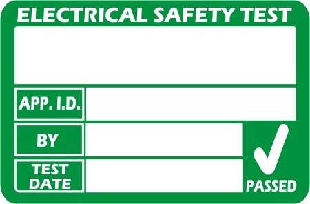 March 2013 pat labels blog for Pat testing template free